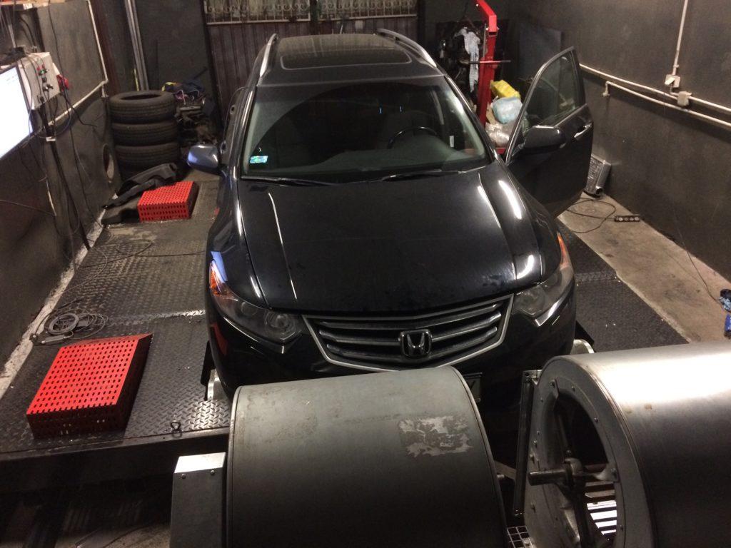 Honda Accord CTDI pomiar mocy Gdańsk
